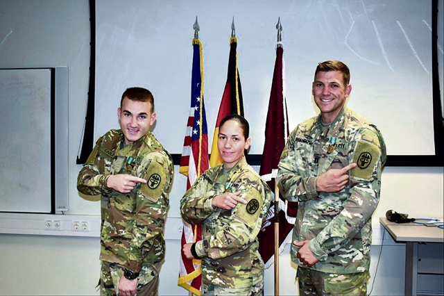 Public Health Command Europe Soldiers compete for 'Best Warrior' title