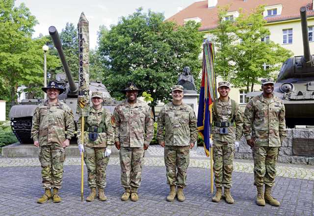 1 ABCT, 1 ID assumes authority in Żagań, Poland
