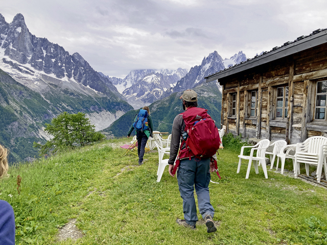Why hiking French Alps is fabulous, even in bad weather