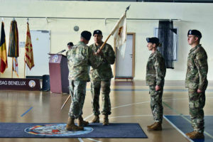 HHC, USAG Benelux welcomes new commander