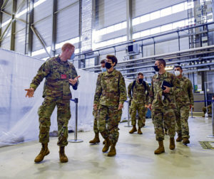 AMC Command team visits 521 AMOW during OAR