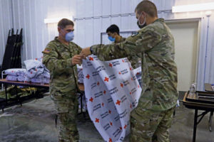 DOD building capacity to support up to 50,000 Afghan evacuees