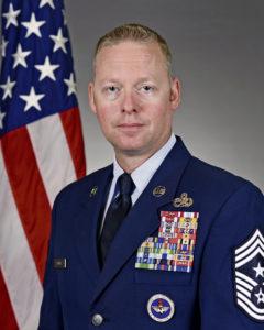 Meet USAFE –AFAFRICA's newest command chief, CMSgt. Benjamin Hedden