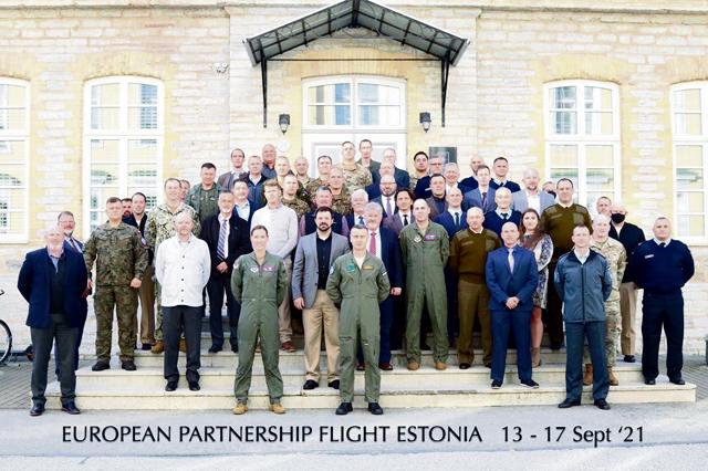 US, Estonia host European partnership flight event
